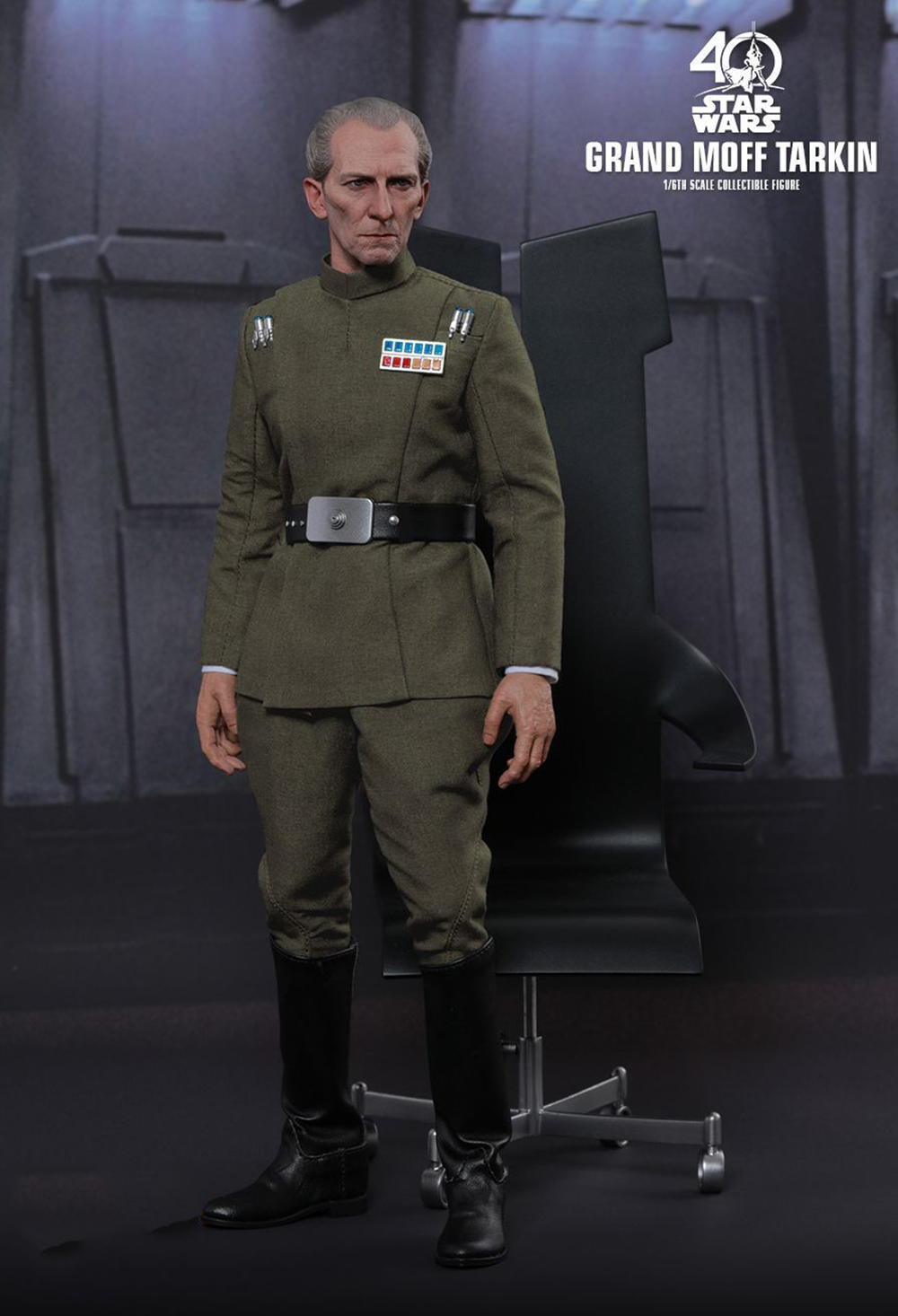 Full set Colletible 1/6 Scale Star Wars: Episode IV - A New Hope Grand Moff Tarkin Peter Cushing Figure Model Toys 1