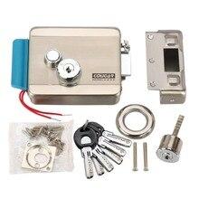 Haute qualité électrique serrure de contrôle E – lock en acier inoxydable sécurité pour 12 V DC système de contrôle d'accès CE et MA approuvé