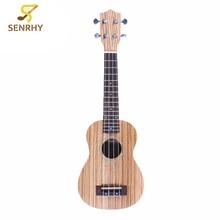 "Senrhy 21"" 4 Strings Concert Ukulele Ukelele Soprano Guitar Guitarra For Musical Stringed Instruments Lovers or Beginner"