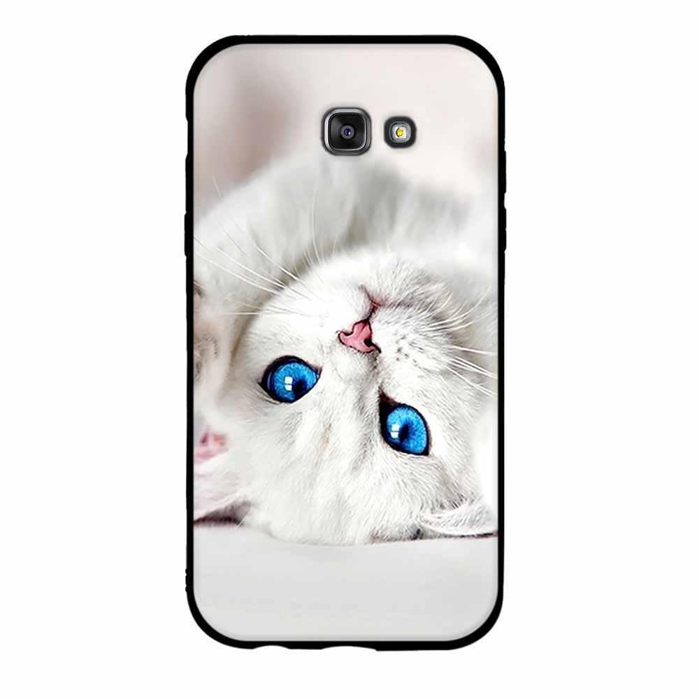 Case For Samsung Galaxy A7 2017 A720F Cases Soft Silicone TPU Cover Case for Samsung A7 2017 SM-A7 (7) A720 Cover Bag Capa Funda