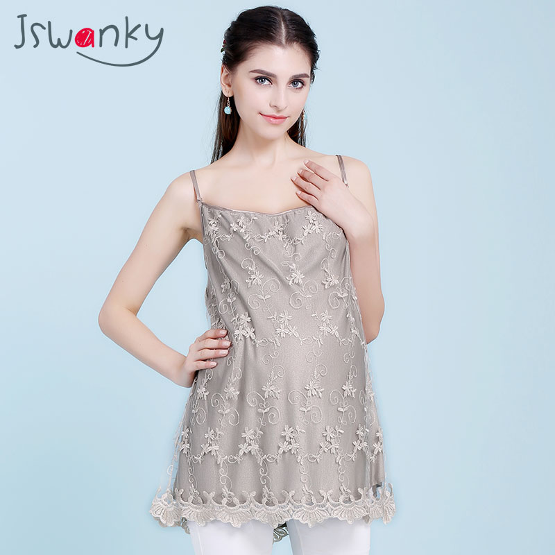 JSWANKY Silver Fiber Radiation Protection Lace Maternity Clothes Floral Tank Tops Gray Vest Clothes For Pregnant Women Clothing zanussi zdb1600