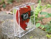 led music New mp3 music player heart-shaped lights cubeed,Music spectrum kit ,led electronic diy kit  (5)