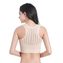 Women Seamless Sports Yoga Bra Top para mujeres Breathable Bras Plush Size Female Push Up Fitness Mesh Vest