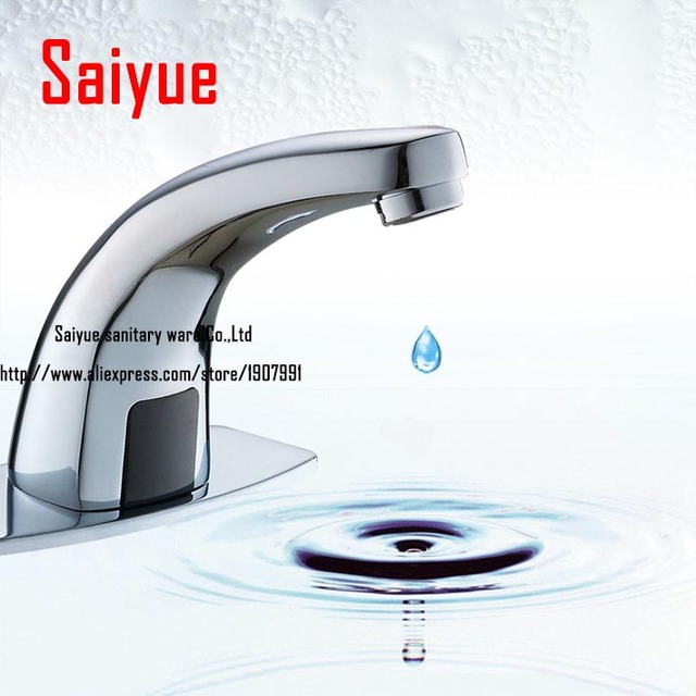 Bathroom Lavatory Auto Water Mixer Touchless Electronic Automatic ...