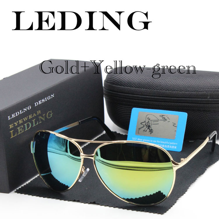 LEDING sunglasses for men fashion polarized Lens sun glasses top ...