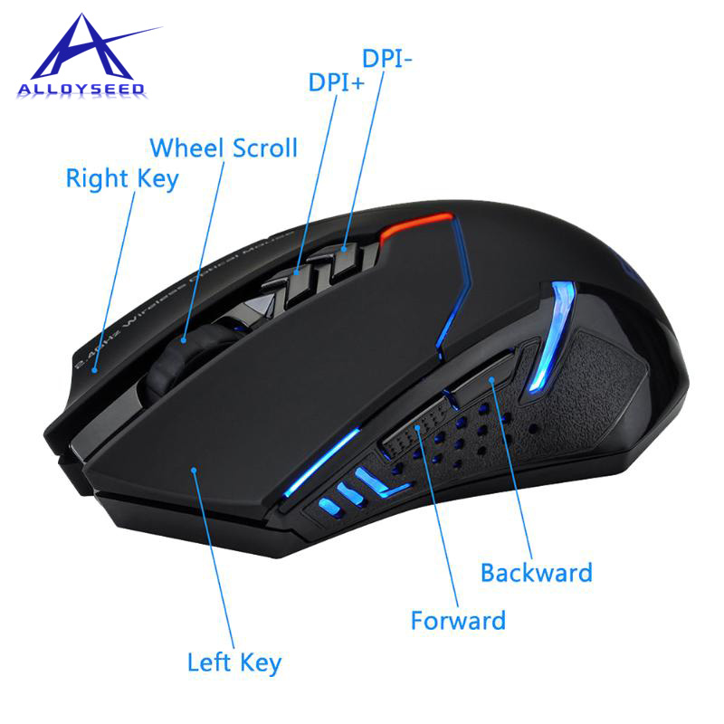 2.4G Wireless Mouse Silent Button Mouse Slim Mouse Office Mice For Computer Laptop Silence mouse