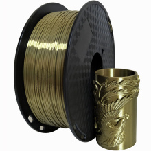 Silk Bronze Metal 3D Printing PLA Filament 1.75mm 1KG Material Best Seller Creative Plastic Shiny