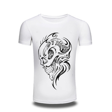 New Brand Clothing 3D T Shirt Men Comfortable T shirt Creative Design Skull Printed 3D Fitness Man T-Shirt Size M-3XL Tops Tees