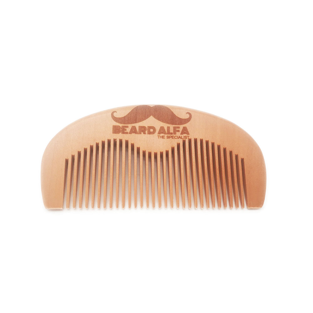 100pcs/lot Your LOGO Customized Private Label Combs Hair Beard Wood Comb for Men & Women for Barber Shop Retail Case 16