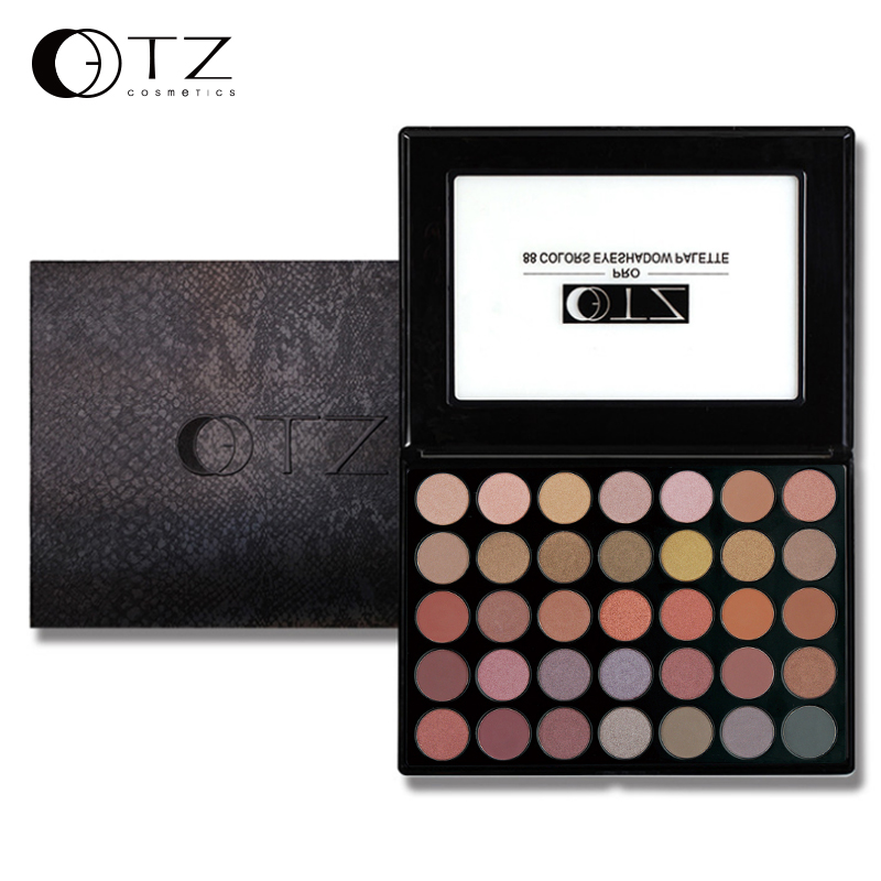 35 Colors Makeup Eyeshadow Palette Matte Shimmer Eye Shadow Palette Cosmetics Naked Eyeshadow Palette Professional TZ
