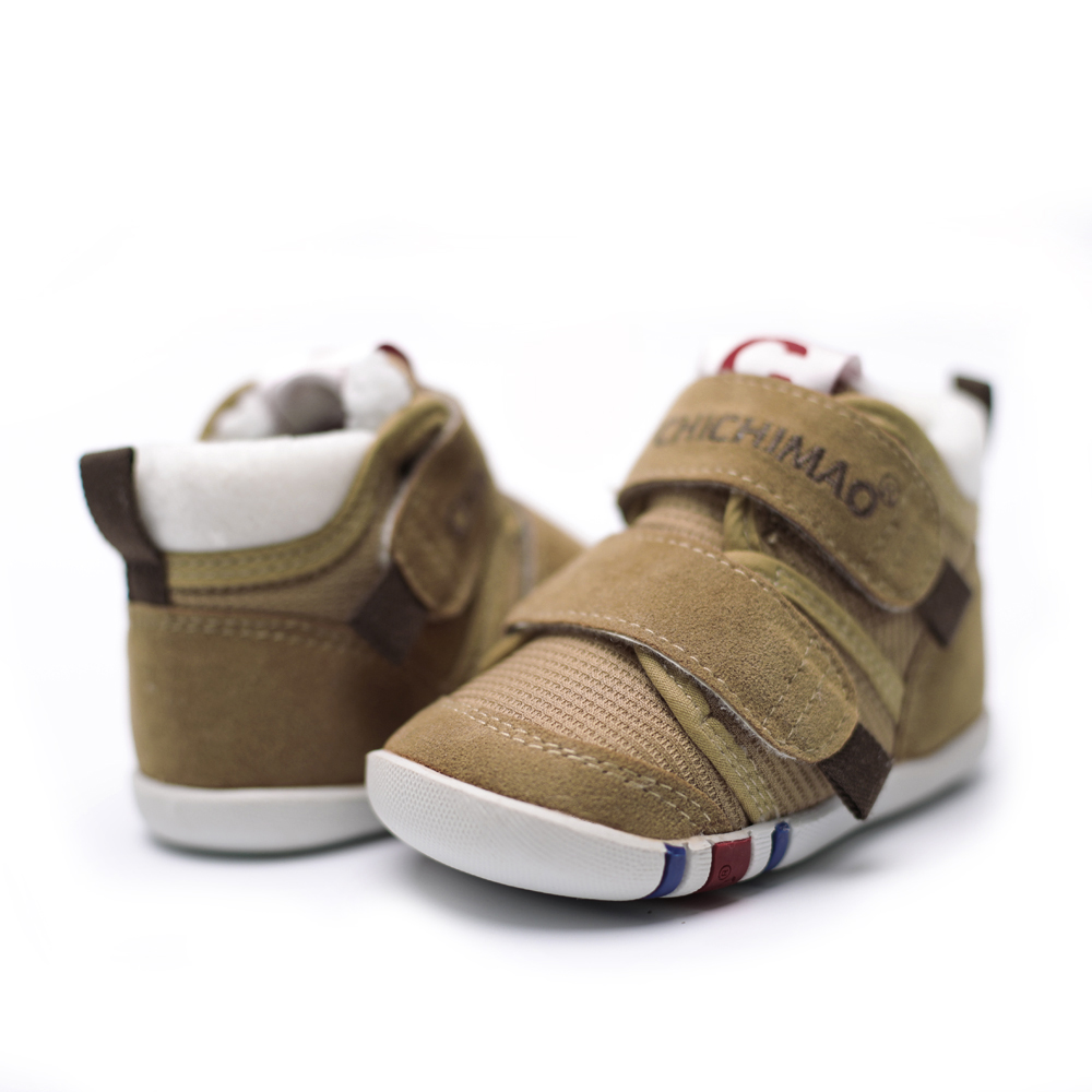 CHICHIMAO Warm Sneakers For Kids Boy Girls Winter Snow Soft&Comfortable Breathable Non-slip Cotton Children Shoes