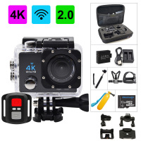Action Camera 4K Ultra HD WIFI gopro hero 4 Stlye 1080P/30fps 2.0 LCD 170 Lens Diving Waterproof 30M DV Helmet Cam Sports Camera