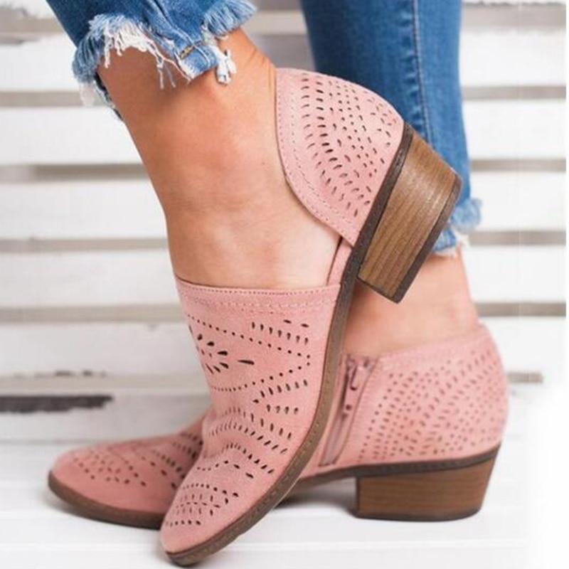 Db080 black green De pink Pisos Mujeres Cuero Zapatos Las yellow Primavera Beige Verano Para La HOxAPz