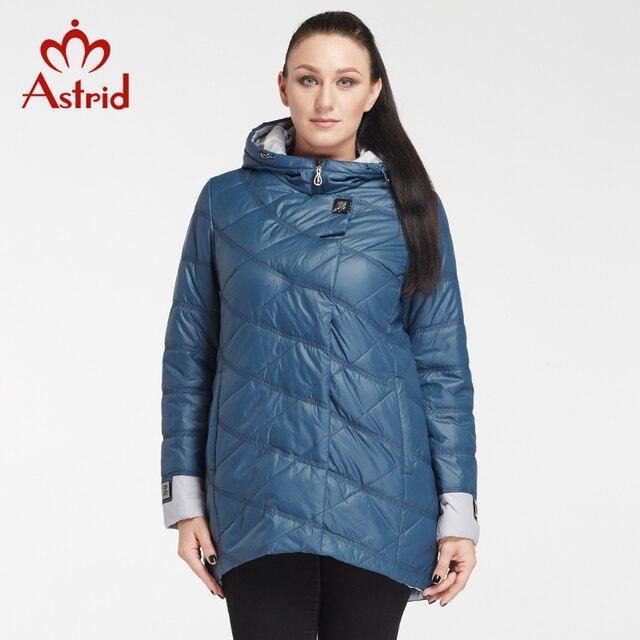 Astrid 2018 зимняя женская куртка Professional плюс размер бренд