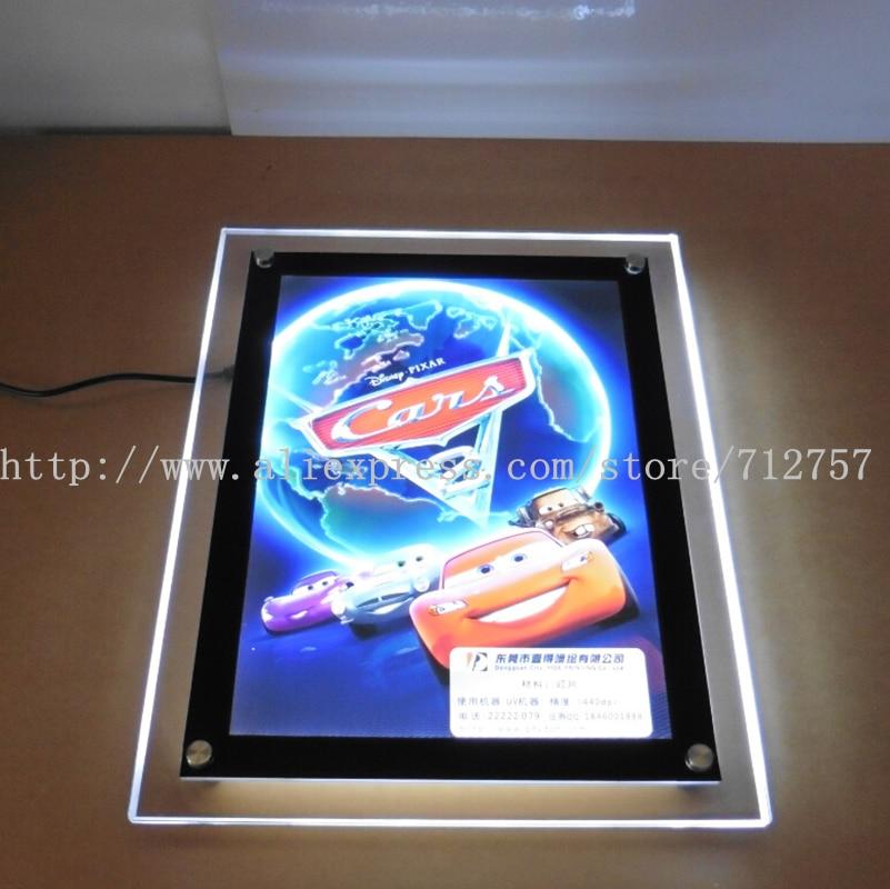 home theater crystal frame ultr slim led back lit movie