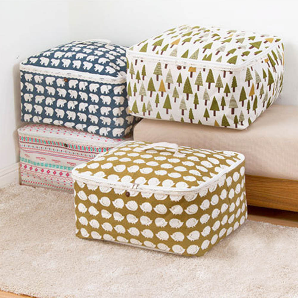 Disney Collapsible Storage Trunk Toy Box Organizer Chest: Aliexpress.com : Buy Large Quilt Foldable Waterproof Linen