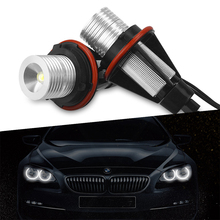 цена на 5 Colors LED Angel Eyes Lights Bulbs Error Free For BMW E39 E59 E53 E60 E31 E63 E64 E65 E66 E83 E87 525i 530i xi 545i M5