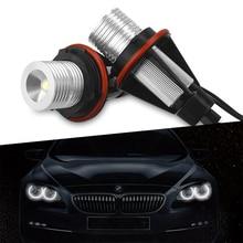 5 Colors LED Angel Eyes Lights Bulbs Error Free For BMW E39 E59 E53 E60 E31 E63 E64 E65 E66 E83 E87 525i 530i xi 545i M5