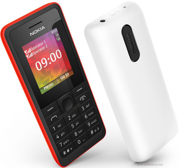 new Original Nokia 107 Dual SIM Unlocked Wholesale GSM Cheap Cell phone white 2