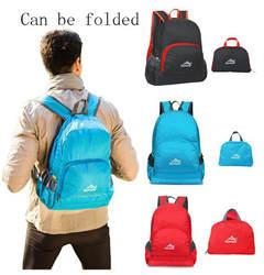 Открытый высококлассный портативный складной легкий рюкзак Водонепроницаемый бионический камуфляж Шаблон Складной Рюкзак Пакет сумка