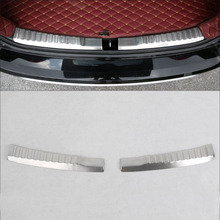 цена на FOR Honda CRV CR-V Accessories 2012-2015 2016 Stainless Steel Rear Bumper Protector Cargo Step Panel Cover Sill Plate Trunk Trim