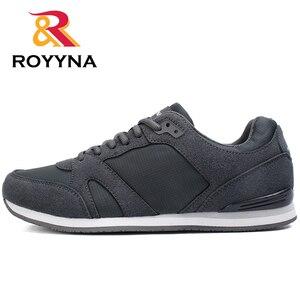 Image 2 - ROYYNA chaussures confortables respirantes pour hommes, nouveau Style, printemps automne, chaussures décontractées, livraison rapide, à lacets