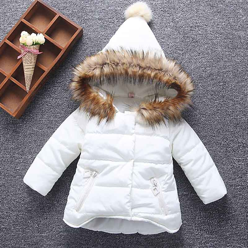Winter children clothing girls Warm parka down jacket for baby girl clothes children's coat snow wear kids suit children winter clothing coat for girl wool down jackets for girls baby woolen jacket outerwear kids thicken clothes coats parka