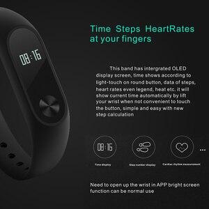 Image 3 - Banda Pulseira Smartband HORUG Inteligente Rastreador De Fitness Pulseira Inteligente Pulseira Pedômetro Esporte Heart Rate Monitor da Pressão Arterial