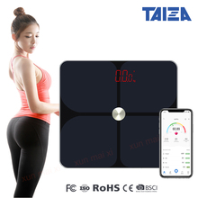 Smart Bathroom Scale Floor Human Weight mi Body Composition Fat Home Balance Bluetooch Household Weighting