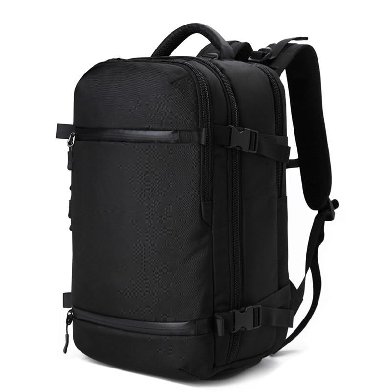 OZUKO рюкзак для мужчин Дорожная сумка мужской багажный рюкзак USB большой емкости многоцелевой водостойкий рюкзак для ноутбука женский