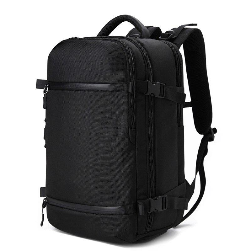 OZUKO SAC À Dos Hommes voyage pack Sac Mâle Bagages Sac À Dos USB Grande Capacité Multifonctionnel Étanche pour ordinateur portable sac à dos Femmes