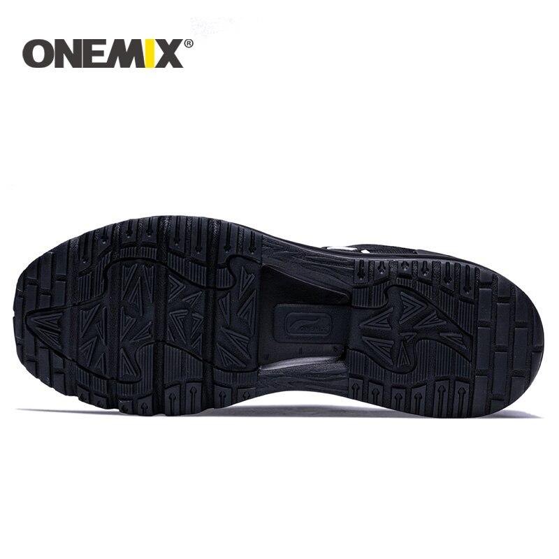 Onemix 2017 nuevos hombres zapatos para correr diseño único - Zapatillas - foto 3
