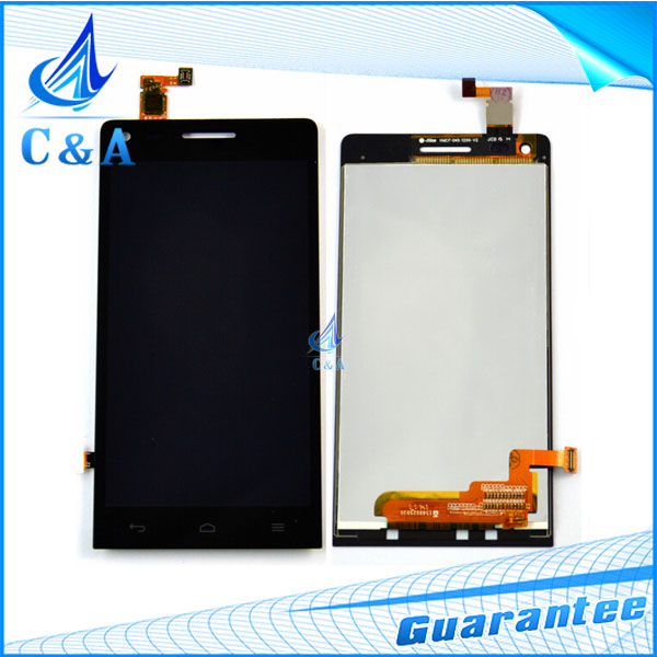 1 piece tested free shipping replacement repair part 4.5 inch screen for Huawei Ascend G6 lcd display with touch digitizer