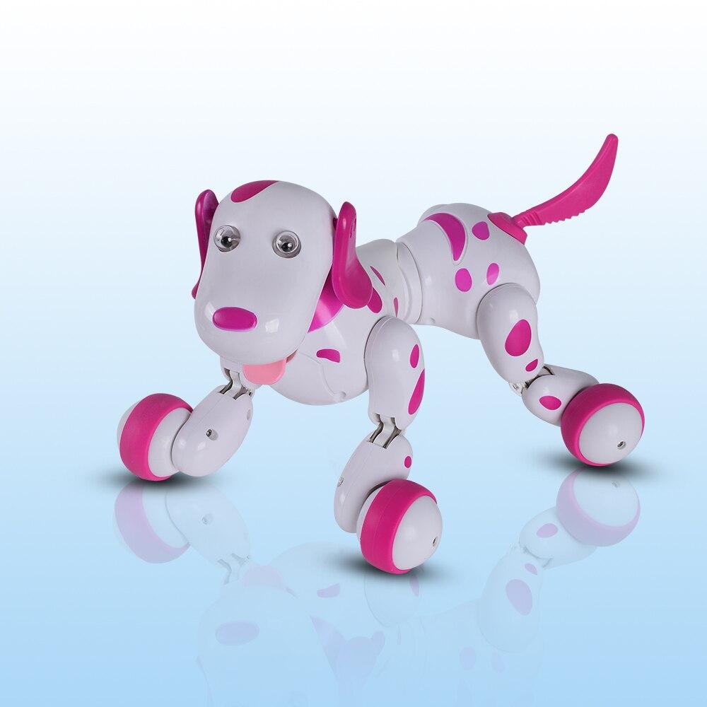 RC marche chien 2.4g Sans Fil Télécommande Intelligente Chien Électronique Pet Éducation Enfants de Jouet Robot Chien Cadeau D'anniversaire