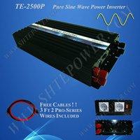 DC 24v to AC 220v 2500w power inverter, pure sine wave power inverter, solar invertor