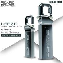 Suntrsi USB Flash Drive 64 GB Pendrive de Metal de Alta Velocidad USB palo de 32 GB Capacidad Real Pen Drive 16 GB Flash USB Libre gratis