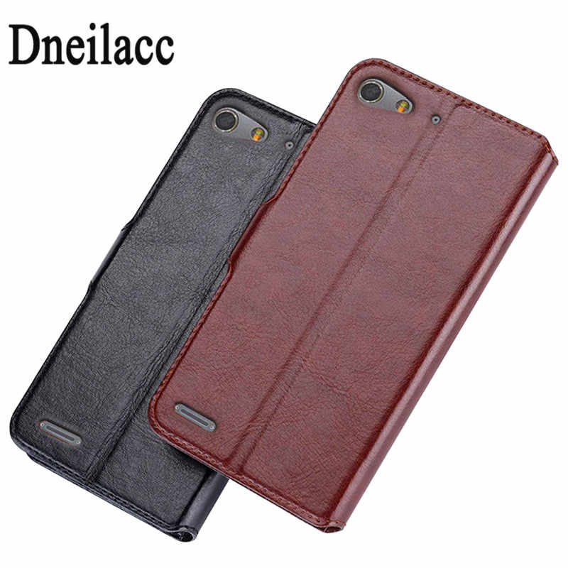 Cover case Premium PU Leather Flip Case For ZTE Blade X7 Z7/ZTE Blade D6 V6 with Card Slots