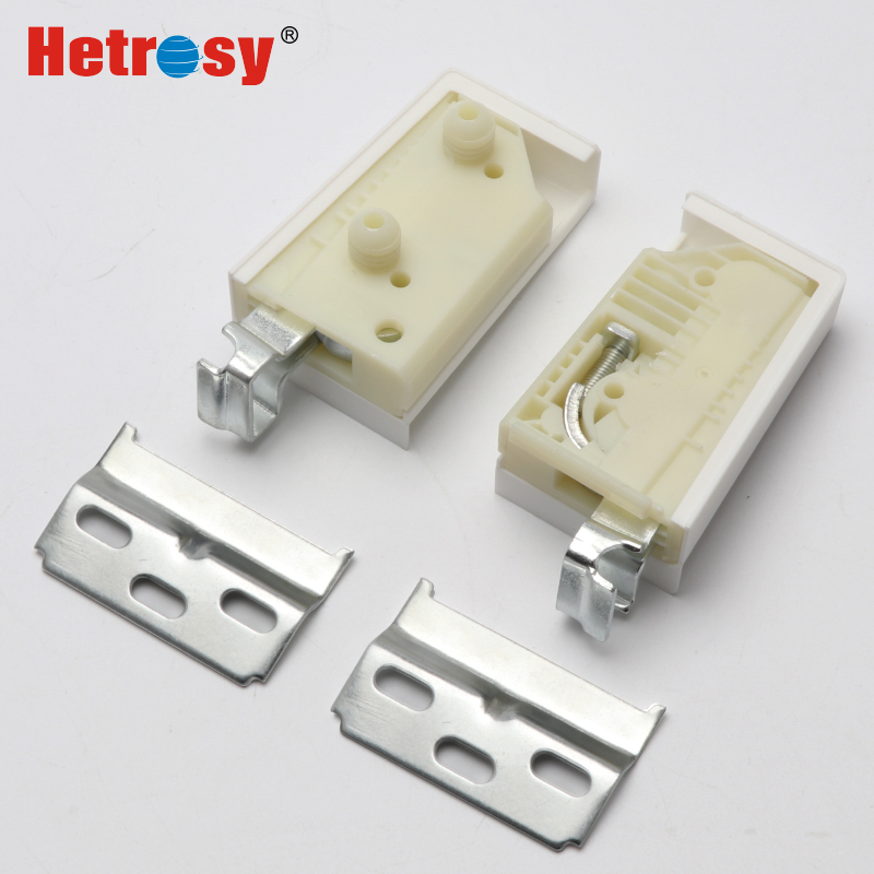 Hetrosy Hardware ABS Cabinet American Style Screw Suspension Hooks CAMAR Furiture Hanger For Cupboard Load Weight 100KG
