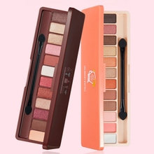 2019 12 Colors Matte Shimmer Eyeshadow  Palette Waterproof Long lasting Eye shadow Pearl Mix color