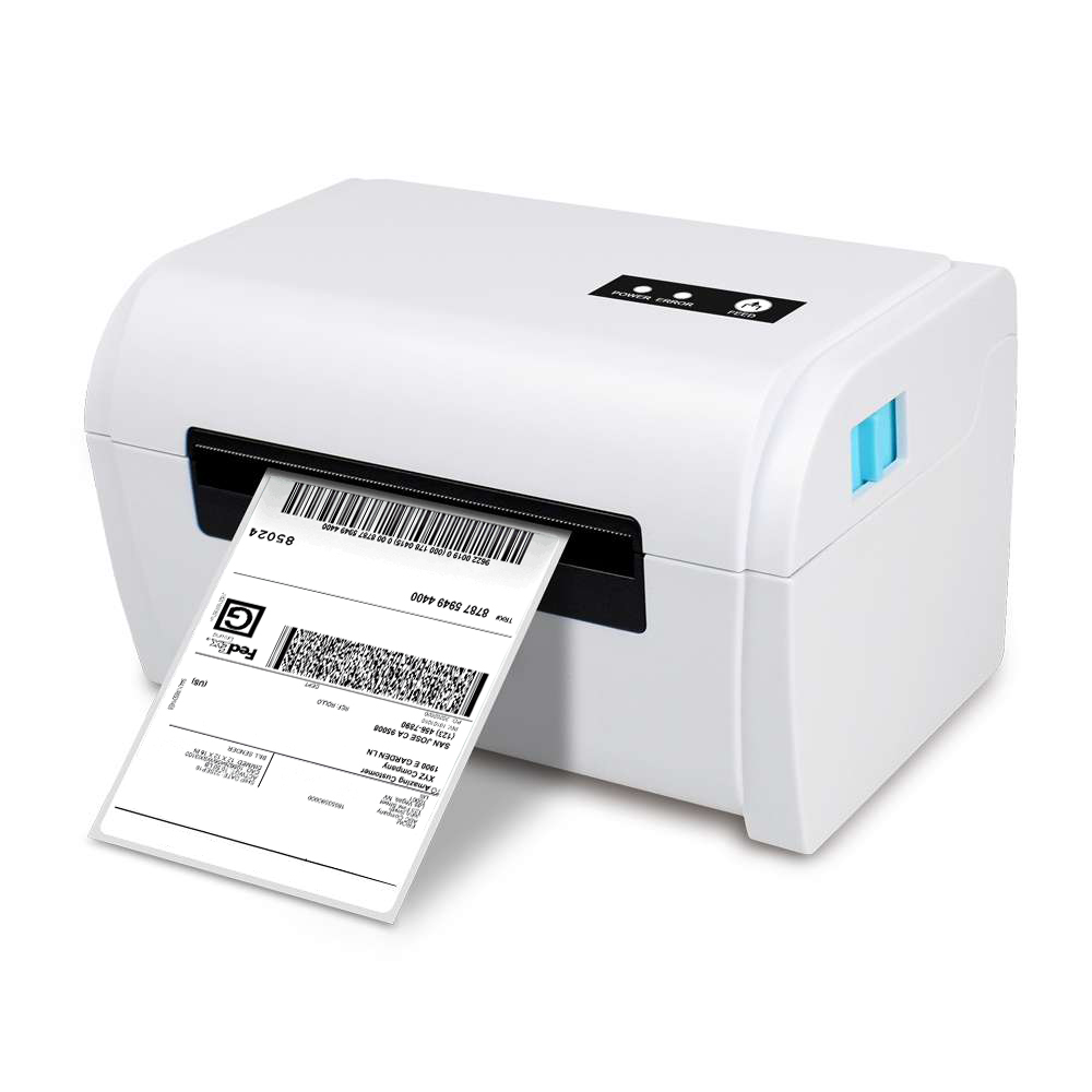 NETUM Label Maker Thermal Label Printer 108mm 4 quot x6 quot inch Label Barcode Printer for UPS FEDEX DHL shipping labels PC Computer in Printers from Computer amp Office