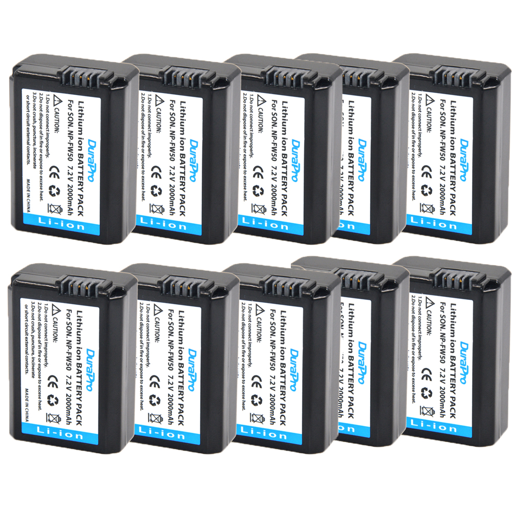 купить 10pc/lot NP-FW50 NP FW50 NPFW50 Battery for Sony Alpha A33 A35 A37 SLT-A33 SLT-A35 SLT-A37 SLT-A37K SLT-A37M SLT-A55 SLT-A55V недорого