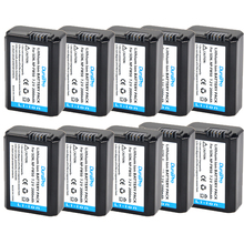 10pc/lot NP-FW50 NP FW50 NPFW50 Battery for Sony Alpha A33 A35 A37 SLT-A33 SLT-A35 SLT-A37 SLT-A37K SLT-A37M SLT-A55 SLT-A55V