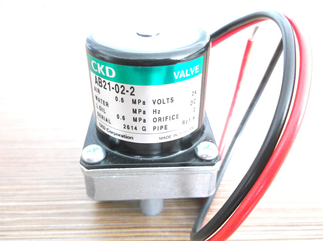 CKD solenoid valve AB21-02-2-DC24V Direct acting 2 port solenoid valve (general purpose valve)