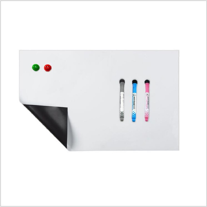 цена Magnet whiteboard A3 soft magnetic board, Dry Erase drawing and recording board For Fridge Refrigerator