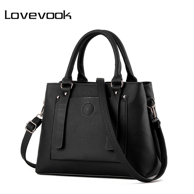 LOVEVOOK бренд женская сумка, дамская сумка из PU кожи,женская сумка мессенджер