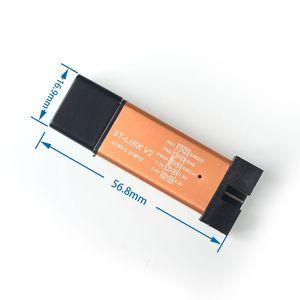 ST-Link V2 stlink mini STM8 STM32 STM32F103C8T6 STLINK симулятор загрузки Программирование с крышкой