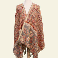 Paisley Tippet From India Winter Scarf Ethnic Scarves Fashion Stole Cotton Indian Echarpe 190 70cm