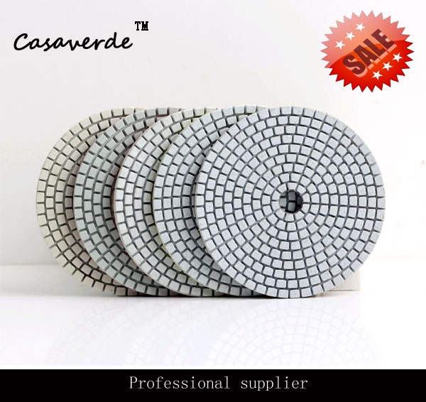 Free Shipping Hot sale for 2016 D100mm 4 inch with 3.0mm granite diamond wet polishing pads with competitive price  free shipping standard 5 125mm with 2 5mm flexible 5 inch polishing pads for granite and marble