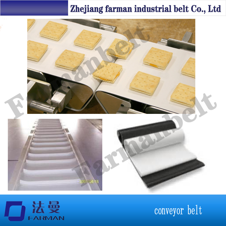 white cleat food grade industry pvc conveyor belt customized blue pvc conveyor belt for food industry