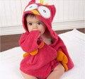 Coruja do bebê menino vestir vestido respingo envoltório banho com capuz toalha Robe 0 - 12 M 2 cores